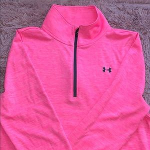 Under armour semi fitted half zip